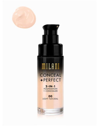 Milani Conceal & Perfect Liquid Foundation Light Natural