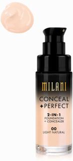 Milani Conceal & Perfect Liquid Foundation Light Natural