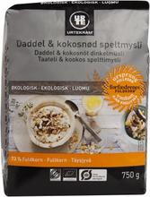 Urtekram Bio Dinkelmüsli Dattel & Kokos 750 g