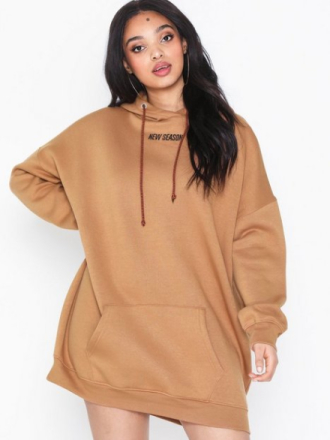 Missguided New Oversized Hoodie Dress Loose fit dresses