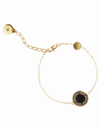 Armbånd - Oro Marc Jacobs Enamel Logo Disc Bracelet