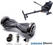 Package Smart Balance? Hoverboard 6.5 inch, Transformers Carbon + Hoverseat, Motor 700 Wat, LED