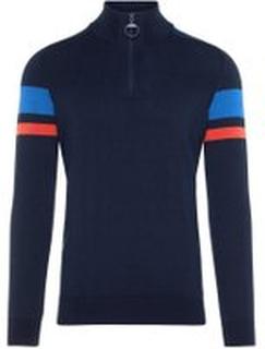 J.LINDEBERG Case Cotton Coolmax Sweatshirt Man Blå