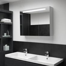 LED Baderomsspeilskap 88x13x62 cm