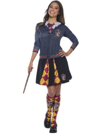 Gryffindor t-shirt från Harry Potter - Maskeradkläder för vuxna