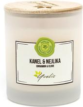 Miljövänligt Doftljus Kanel & Nejlika, Mellan (ca. 180 g)
