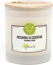 Miljövänligt Doftljus Patchouli & Cederträ, Mellan (ca. 180 g)