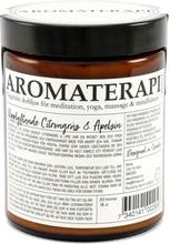 Doftljus Aromaterapi - Citrongräs & Apelsin