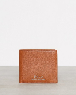 Polo Ralph Lauren Billfold Wallet Small Lommebøker Tan