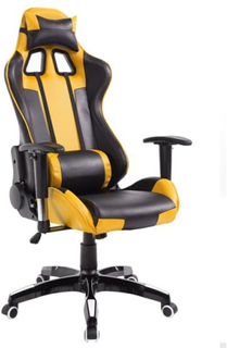 Stanlord - Spelstol - Comanche Gamer Chairs - Yellow