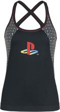 Playstation - Retro -Topp - svart