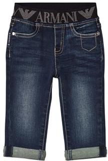 Emporio Armani Dark Logo Denim Jeans 9 months