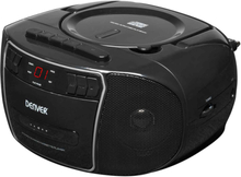Denver boombox med fm/cd/kassett