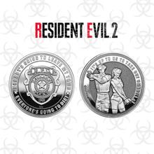 Resident Evil 2 Sammlermünze in limitierter Auflage: Silbervariante
