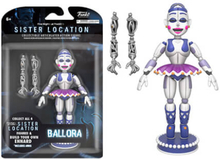 Funko Five Nights at Freddy's 5 13 cm Articulated Action Figur - Ballora