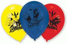 Avengers balloner, Ø 22,8 cm, 6 stk