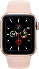 Apple Watch Series 5 GPS - 40mm Gold Aluminiumgehäuse mit Sandrosa Sportarmband