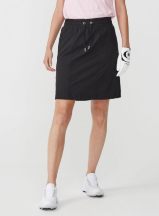 Comfort Skort kjol (Färg: Svart, Storlek: 42)