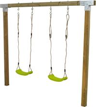 Plus Gungställning Cubic-Grön-Tryckimpregnerad