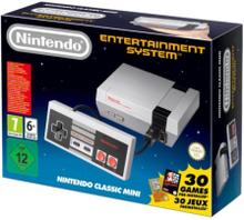 NES Classic Mini - 30 Games Grå