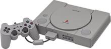 PlayStation 1 Inkl. 2 Controller + Memorycard Grå