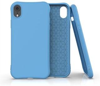 Matt skal TPU mobiltelefon skal skal för iPhone XR 6,1-tums