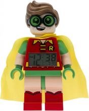 THE LEGO® BATMAN MOVIE Robin™ Minifiguren-Uhr mit Wecker