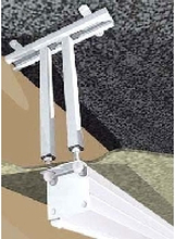 KIN 7411000000 - Ceiling mount white for audio/video 7411000000