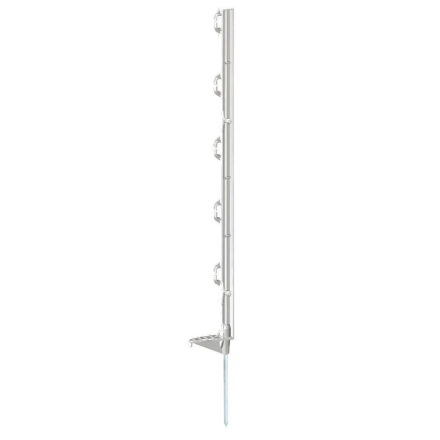 Kerbl elektrisk hegnspæle Eco 25 stk. plastik 70 cm hvid