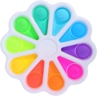 Enkel Dimple Toy Fat Brain Toys Stress Relief Hand Leksaker För Barn