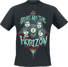 Bring Me The Horizon - Portrait -T-skjorte - svart
