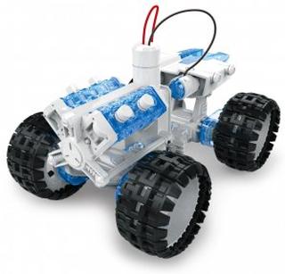 Experiment - Saltvattendriven rymdbil - bygg själv
