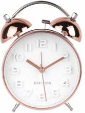 Väckarklocka - Karlsson Mr White Copper