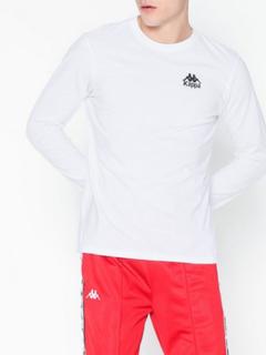 KAPPA T-Shirt L/S Auth Wincy Gensere Hvit/Svart