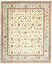 Tabriz 50 Raj Sighned: Faraji med silke matta 245x300 Persisk Matta