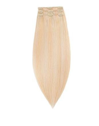 Rapunzel Of Sweden 50 cm Clip-on set Original 3 pieces Light Golden Blond Mix