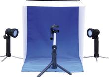 Falcon Eyes Mini fotostudio LED-lampor 40 x 40 x 40 cm