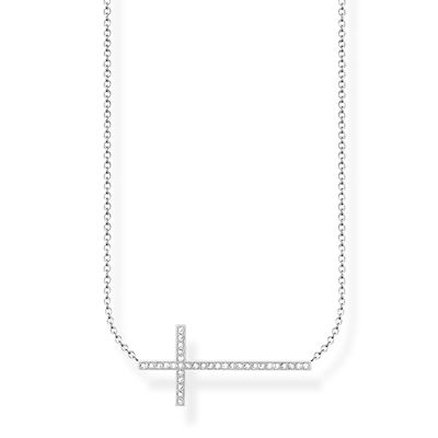 Diamanthalsband kors