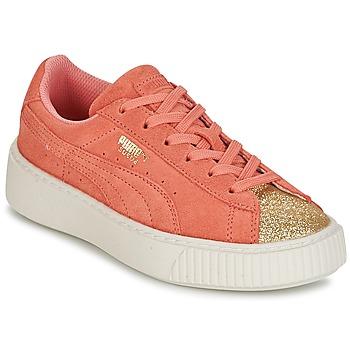 Puma Sneakers SUEDE PLATFORM GLAM PS Puma - Spartoo