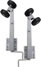 vidaXL Sidorullar för båttrailer 2 st 59 - 84 cm