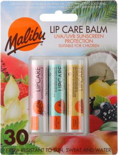 Malibu Lip Care Balm SPF30 3 stk