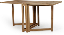 Turin klaffbord Teak 146x70 cm