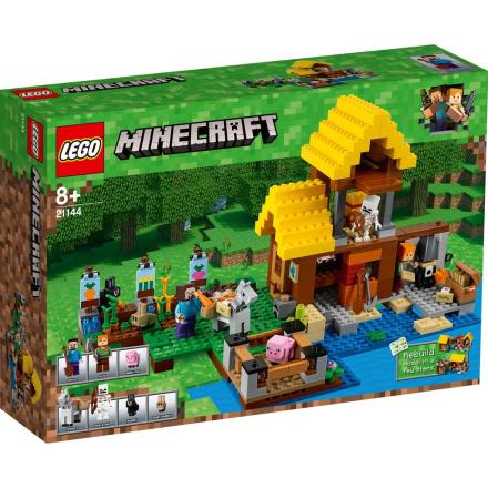 LEGO Minecraft, 21144 LEGO® MinecraftT Hytte - CDON.COM