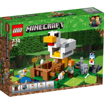 LEGO Minecraft, 21140 LEGO® MinecraftT Hønsehus - CDON.COM