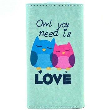 Universal Stilfuld Pung Taske - XL - Owl You Need Is Love