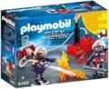 Playmobil Brandmænd Med Vandpumpe - City Action - Gucca