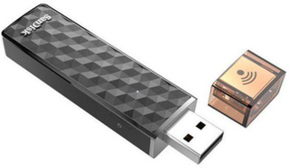 USB-Minne SANDISK Connect Wireless 128GB