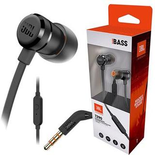 JBL T290 Pure Bass In-Ear Hovedtelefoner med Mikrofon - Sort