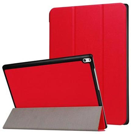 Tri-Fold Lenovo Tab 4 10 Plus Cover - Rød