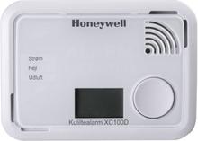 Honeywell XC100D kuliltealarm med display i hvid